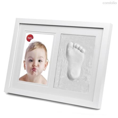 Фоторамка детская со слепком Walk of Fame 13x18, цвет белый - Balvi
