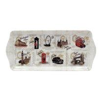 Поднос для сэндвичей Старый Лондон 39х18см - The Leonardo Collection