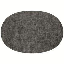 Салфетка подстановочная овальная двухсторонняя Fabric темно-серая - Guzzini