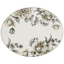 Блюдо Овальное Вдохновение 31,5x25,5 см Высота 3 см - Huachen Ceramics