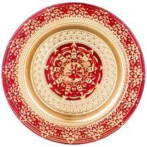 Тарелка «Jasmin» Red 21 Cm Без Упаковки - Akcam